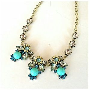 Jewelry - *Sale!* Jeweled Triple Honey Bee Necklace