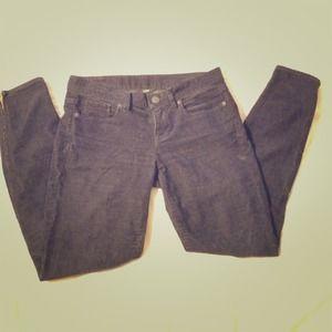 JCrew navy toothpick corduroy pants size 25.