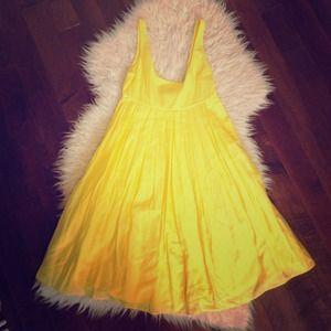 Club Monaco Yellow Dress
