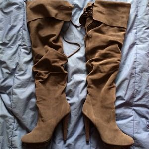 Bakers over the knee boots