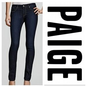 Paige Denim Peg Ankle Skinnies NWOT