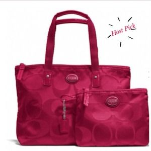HP 3/15Gateaway Signature Nylon Packable Tote