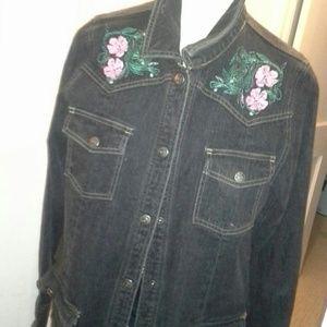 Vintage Denim Jacket!!