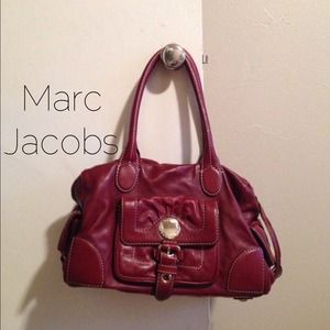 Marc by Marc Jacobs Cranberry Satchel
