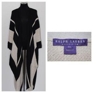🎉HP🎉Ralph Lauren Runway Coat (Purple Label)