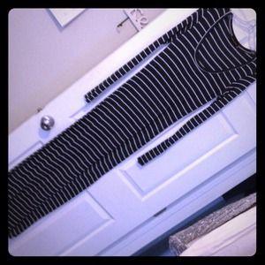 Saint Grace Dresses & Skirts - Knit Stripped Maxi