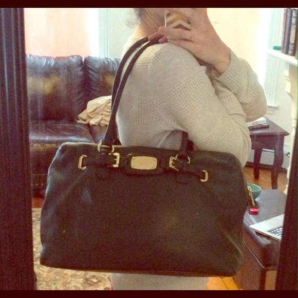 e079cb3aba44 Michael Kors Hamilton Weekender Handbag. M_53344fa53005277d6006858d