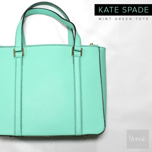 43% off kate spade Handbags - Kate Spade Mint Green Tote Bag from ...