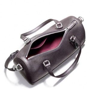 Coach Saffiano Leather Mini Satchel