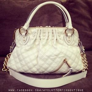 Marc Jacobs Cecilia Bag in Beige
