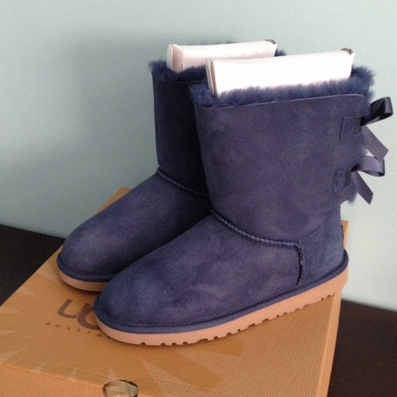 ugg mini bailey bow navy; 2016 navy blue uggs with bows