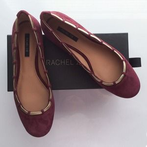 Rachel Zoe Shoes - ⚡️ Rachel Zoe flats in plum