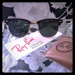 {VTG Ray-Ban Wafers} Club-master