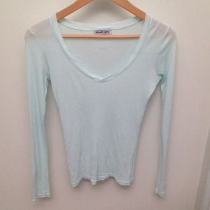 Michael Stars Tops - Michael Stars seafoam green long sleeve top!