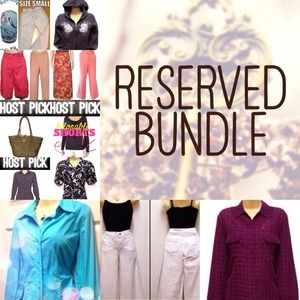 14 Piece Reserved Bundle @mscrystylin