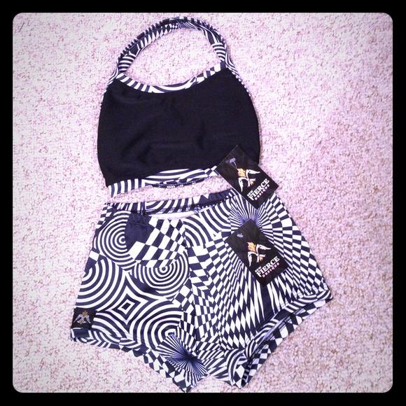 Other Sew Fierce Designs Dancewear Set Nwt Cl Poshmark