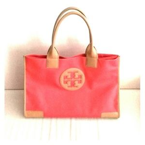 REDUCED PRICE: Tory Burch Ella Tote Dipped Canvas