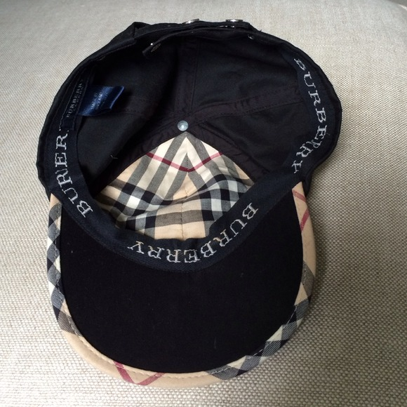 burberry baseball cap for images