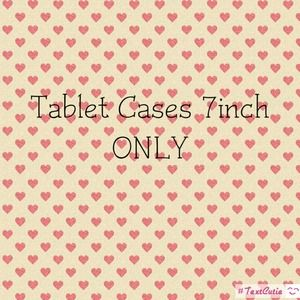 Other - Tablet cases 7 inch