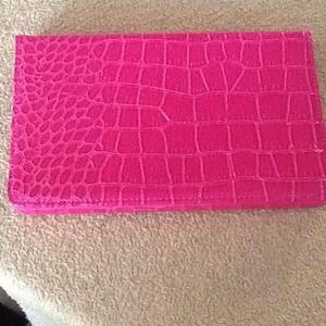 "Other - Pink croc like tablet case 7"""