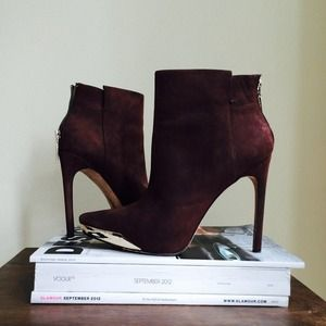 Rachel Roy Shoes - Rachel Roy Suede Ankle Boots 1