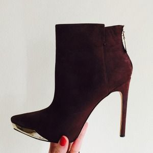 RACHEL Rachel Roy Shoes - Rachel Roy Suede Ankle Boots