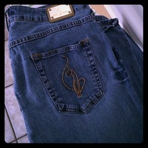 58 Off Baby Phat Denim Plus Size Baby Phat Jeans From