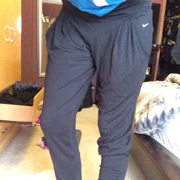 33% off Nike Pants - Nike dri-fit loose yoga pants from Alex's ...