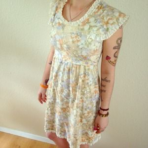 reducedVintage floral dress