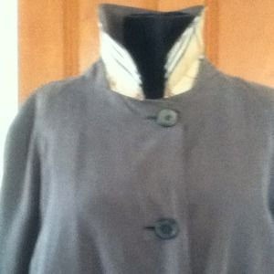 Vintage Burberry All Weather Coat w/ ZipOut Lining
