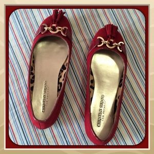 Christian Siriano Shoes - Christian Siriano Red Flats