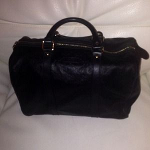 Black Gucci Leather Joy Bag