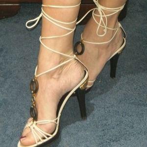 Valentino strappy heels EURO 40.