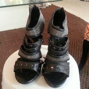 Dolce Vita jeweled sandals