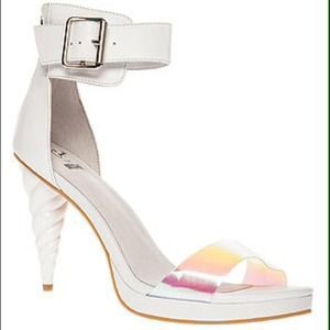 Jeffrey campbell Pegasus unicorn ankle soiree heel