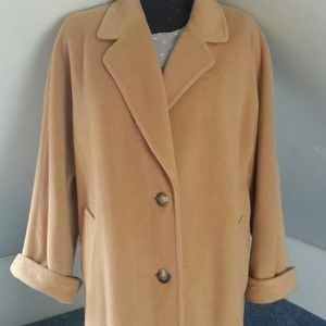 Regency Pure Camel Hair Coat