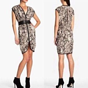 "⭐️NWT⭐️ BCBGMAXAZRIA ""Eris"" Snake Print Dress"