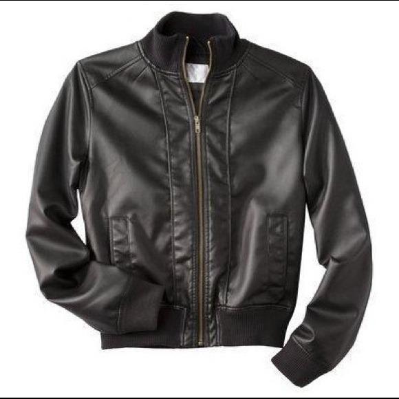 Xhilaration Jackets Coats Target Faux Leather Moto Jacket Poshmark