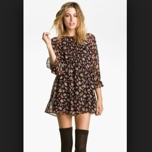 Free People Doll Pants Chiffon mini dress ✨