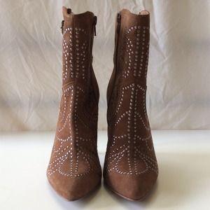 ALDO Shoes - ALDO || Brown Suede JODETHA Stud Booties