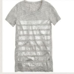 J.crew Bar Stripe Tee