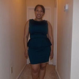 Glamorous UK peplum dress