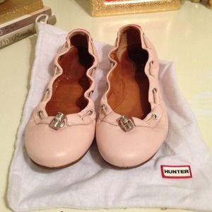 Hunter Boots Shoes - Hunter flats size 7
