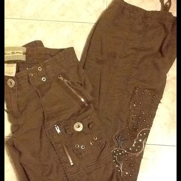 Womens Cargo Skinny Jeans