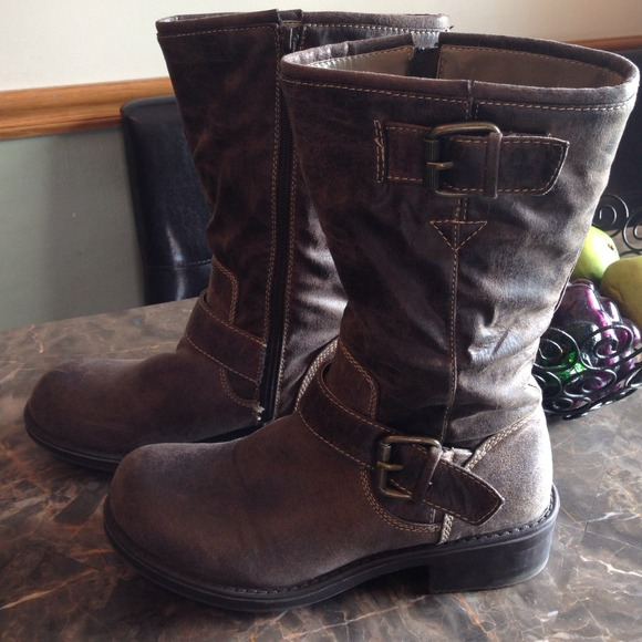 Decree Shoes Boots Brown Tethered Look 8medium Poshmark