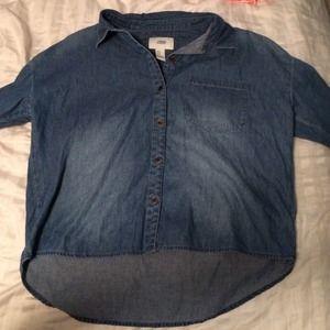 Forever 21 denim shirt