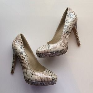 ALDO Shoes - Aldo faux snakeskin pumps