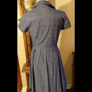 talbot's Dresses - Adorable button-up chambray dress!