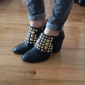 Zara Shoes - Studded Ankle Boots