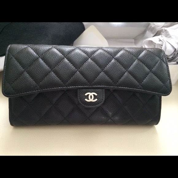 21b939231e6f99 SOLD Chanel black quilted Travel Wallet. NWT. CHANEL. $2,499 $0. Size